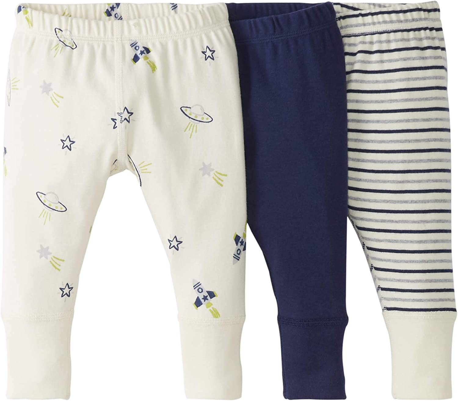 Moon and Back by Hanna Andersson Jogger da ragazzo 3 Pack