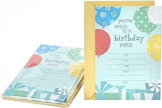 birthday invitations hallmark