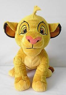 Disney Plush Lion King Young Simba, Yellow, 10inch