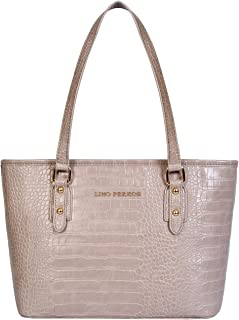 Lino Perros Womens Synthetic Leather Tote