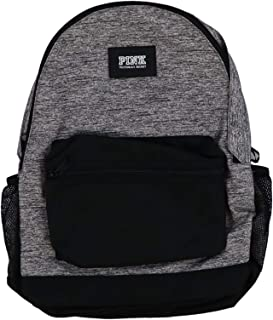 Victorias Secret PINK Campus Backpack 2019 Edition (Grey Marl With Graphic)