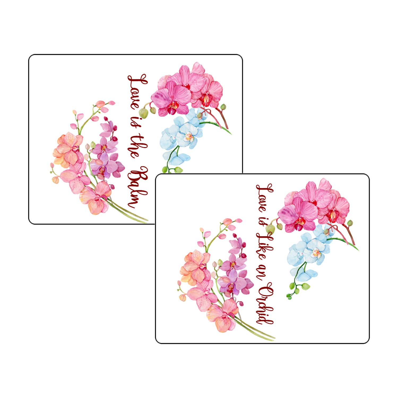 30 Orchid Over item handling Wedding Lip Max 61% OFF Balm Weddi Labels is Love Like