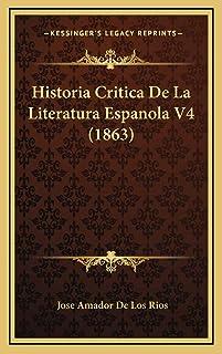 Historia Critica De La Literatura Espanola V4 (1863)