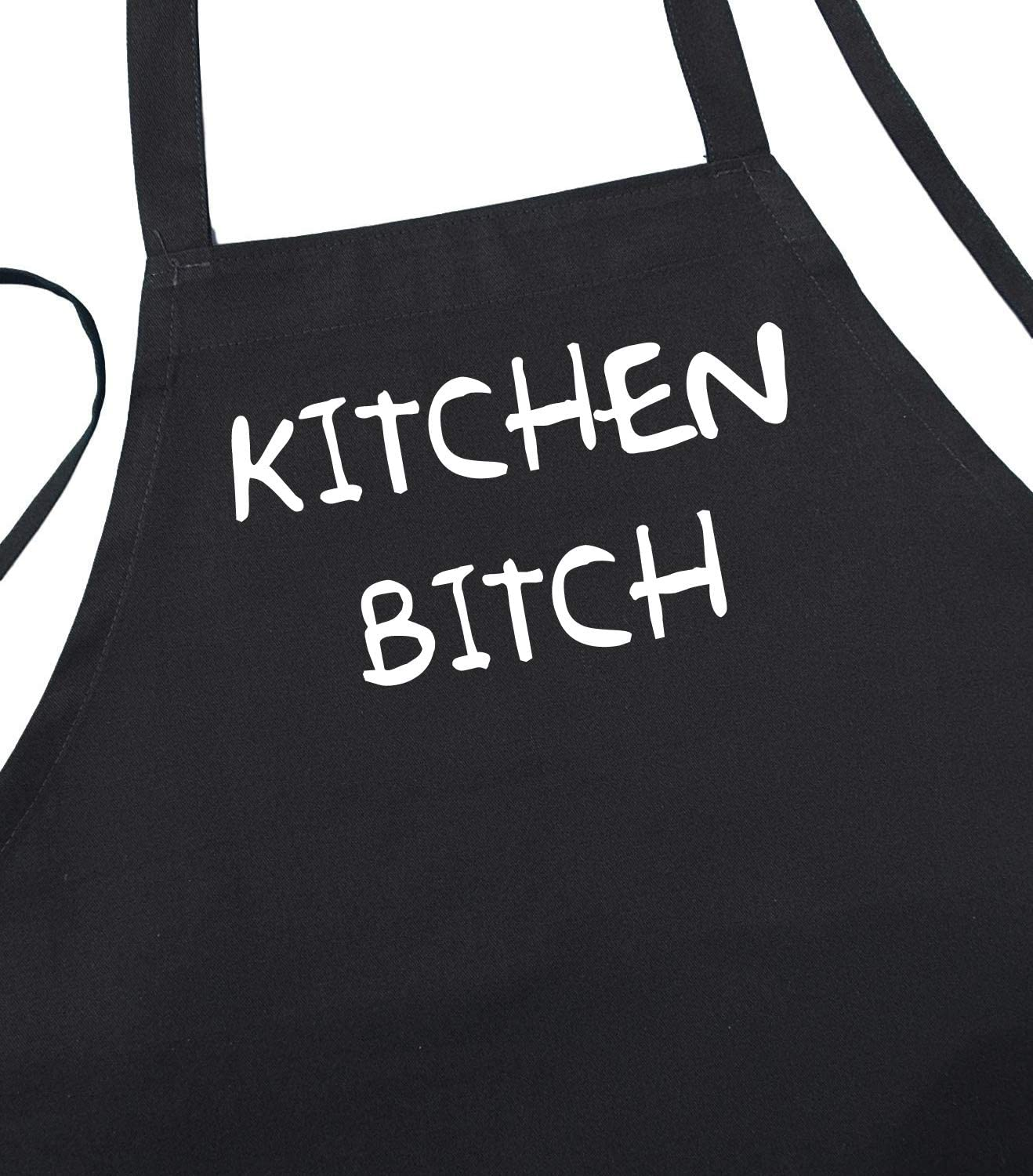 Kitchen Max 47% OFF Bitch Funny Black Limited time sale Cooking Apron for