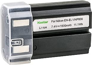 Kastar EN-EL1 Battery Replacement for Nikon Coolpix 5700 Coolpix 5400 Coolpix 4300 Coolpix 4500 Coolpix 4800 Coolpix 8700 Coolpix E880 Coolpix 775 Coolpix 880 Coolpix 885 Coolpix 995 Digital Camera