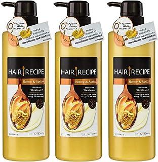 3x Hair Recipe HONEY and APRICOT Moisturizing Treatment Conditioner 530g
