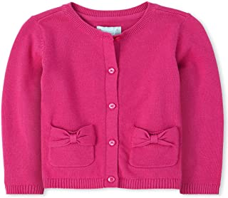 The Children's Place Baby Girls' Bow Cardigan