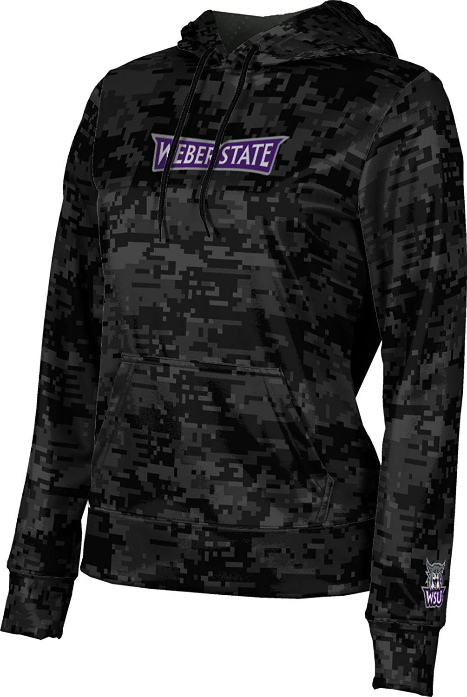 Weber State University Girls' Pullover Hoodie, School Spirit Sweatshirt (Digi Camo)