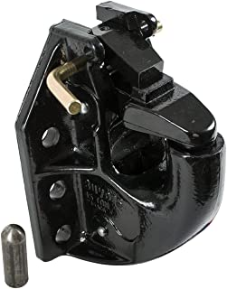 Buyers Products 45-Ton Capacity Air Compensated Pintle Hook, 6-Hole Mount, Without Kit