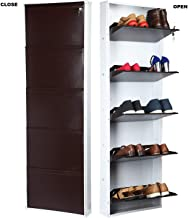 PARASNATH Shoe Den Brown n White Shoe Rack with 5 Shelves Shoe rack