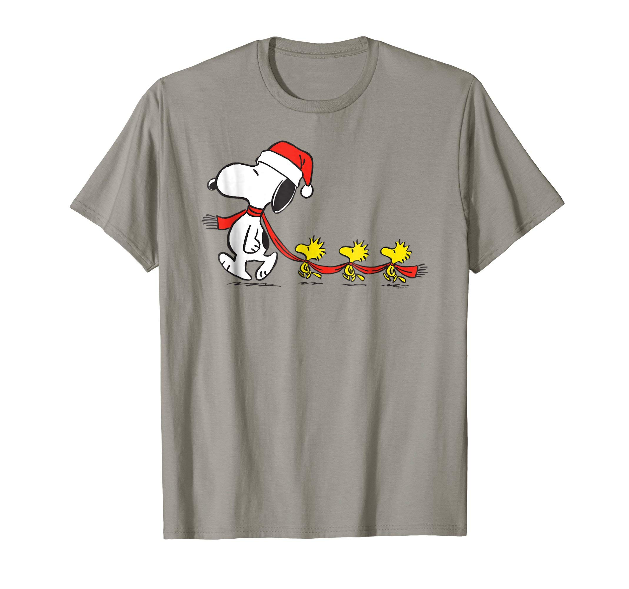 Image of Funny Santa Snoopy Christmas T-Shirt for Kids and Adults