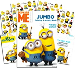 Despicable Me Minions Coloring Book with Stickers ~ Over 295 Stickers!