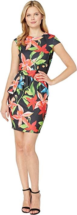Ariana Peplum Sheath Dress
