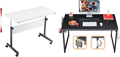 """popular Mr IRONSTONE Height Adjustable lowest Desk 45.7"""" & Computer online sale Desk 31"""" sale"""