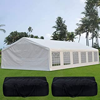 enclosed canopy 10x20