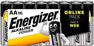 Energizer AA Batteries, Alkaline Power Double A Batteries, 16 Pack