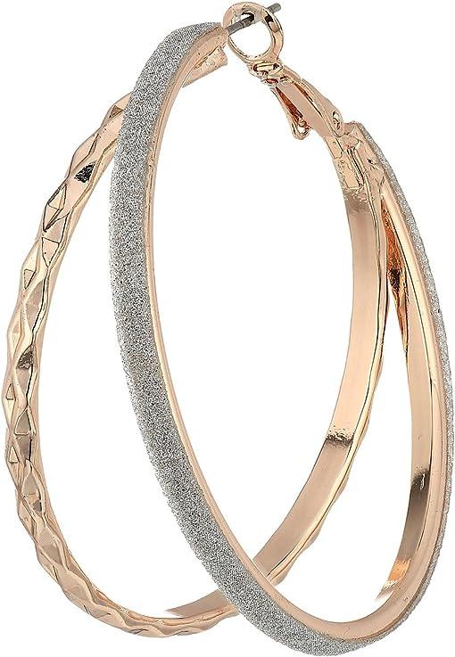 Rose Gold/Silver Glitter