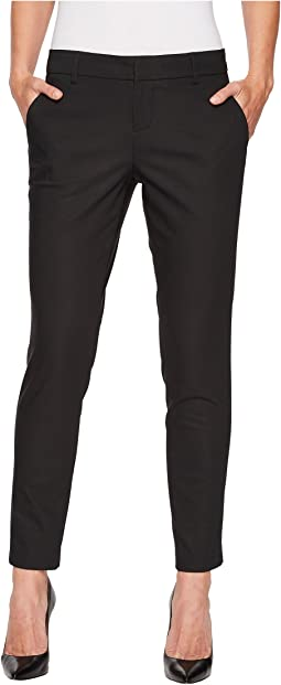 Kelsey Straight Leg Trousers in Black