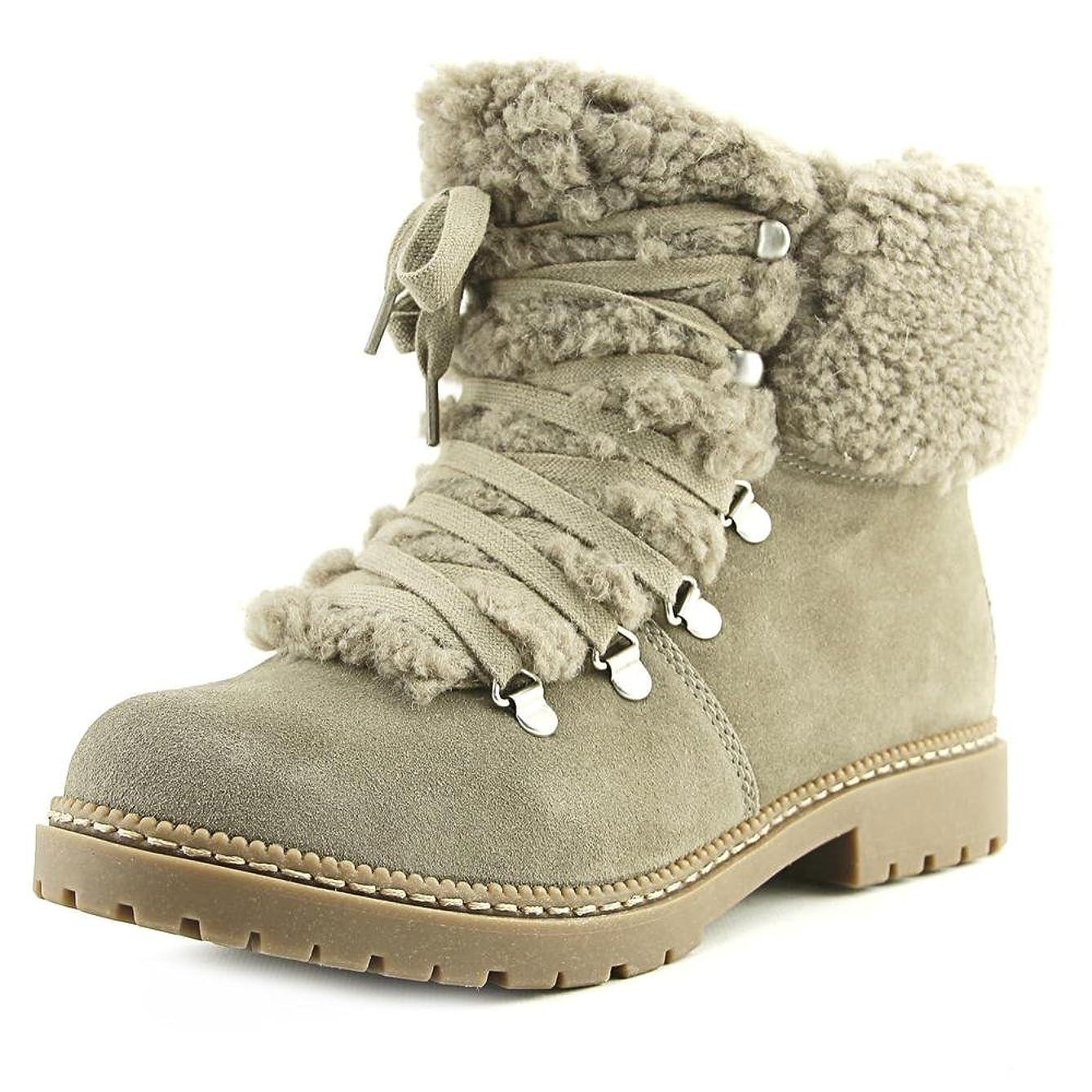 怠感貫入隣接するINC International Concepts Womens Pamelia Closed Toe Fashion Boots, Tan, Size 9