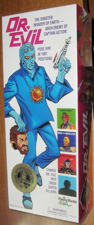 Captain Action Dr. Evil 12  Superhero Action Figure