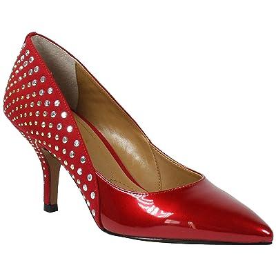 J. Renee Jakey (Red Patent/Suede) Women