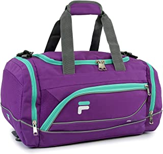 "Fila Sprinter 19"" Sport Duffel Bag, Purple/Teal (Purple) - FL-SD-2719"