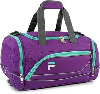 Fila Sprinter 19 Sport Duffel Bag,  Purple/Teal - FL-SD-2719-PLTL