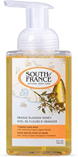 Orange Blossom Honey - South of France Natural Body Care 8oz Foaming Hand Wash (3 Bottles)