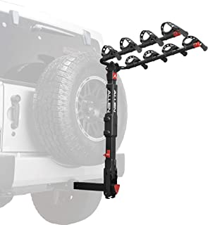 spare tire mount 4 bike rack