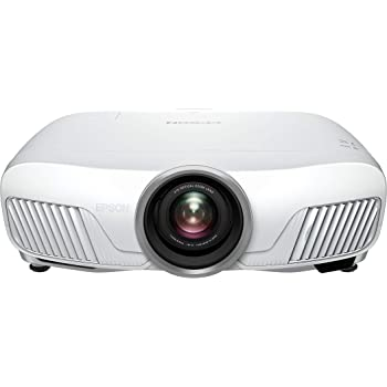 Epson EH-TW7400 3LCD, 4K Pro UHD Super Resolution, 2400 Lumens, 300 Inch Display, Motorised Optics, Home Cinema Projector - White