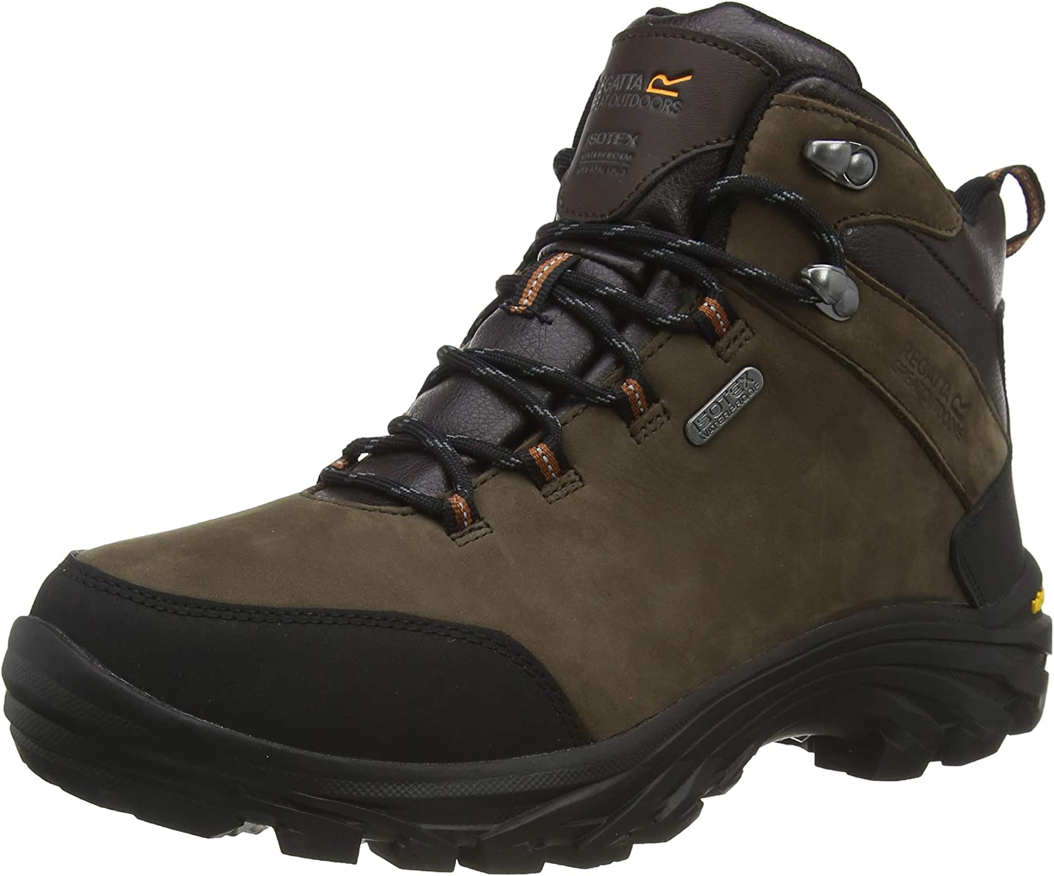 Rapid price rise Regatta Great Outdoors Mens Hiking Leather Boots Burrell