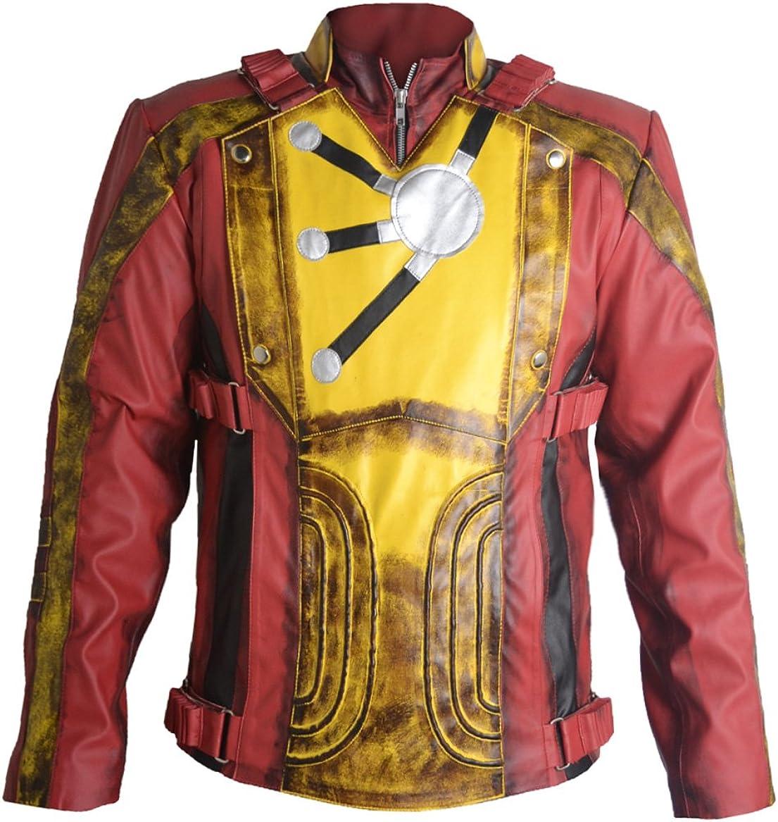 coolhides Men's Firestorm Fashion Legends of Tomorrow Leather Jacket