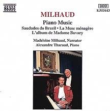 Milhaud: Saudades Do Brazil / La Muse Menagere / L'Album De Madame Bovary