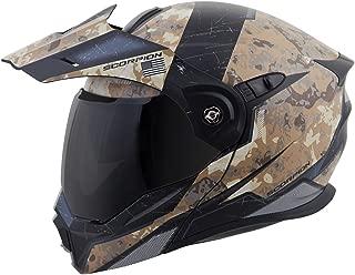 ScorpionExo EXO-At950 Unisex-Adult Flip-Up-Style Battleflage Helmet (Sand, Large)