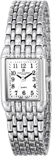 Charles-Hubert, Paris Women's 6830-W Classic Collection Chrome Finish White Dial Watch