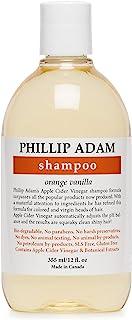 Sponsored Ad - Phillip Adam Orange Vanilla Shampoo for Shiny Hair - Enriched with Apple Cider Vinegar - Sulfate Free - 12 ...