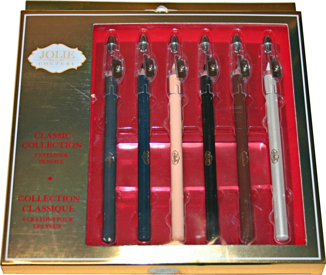 Jolie Couture Classic OFFer Collection Pencils Excellence Set 6 Eyeliner