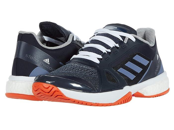 adidas  ASMC Tennis (Legend Blue/Super Purple/Radiant Orange) Womens Tennis Shoes