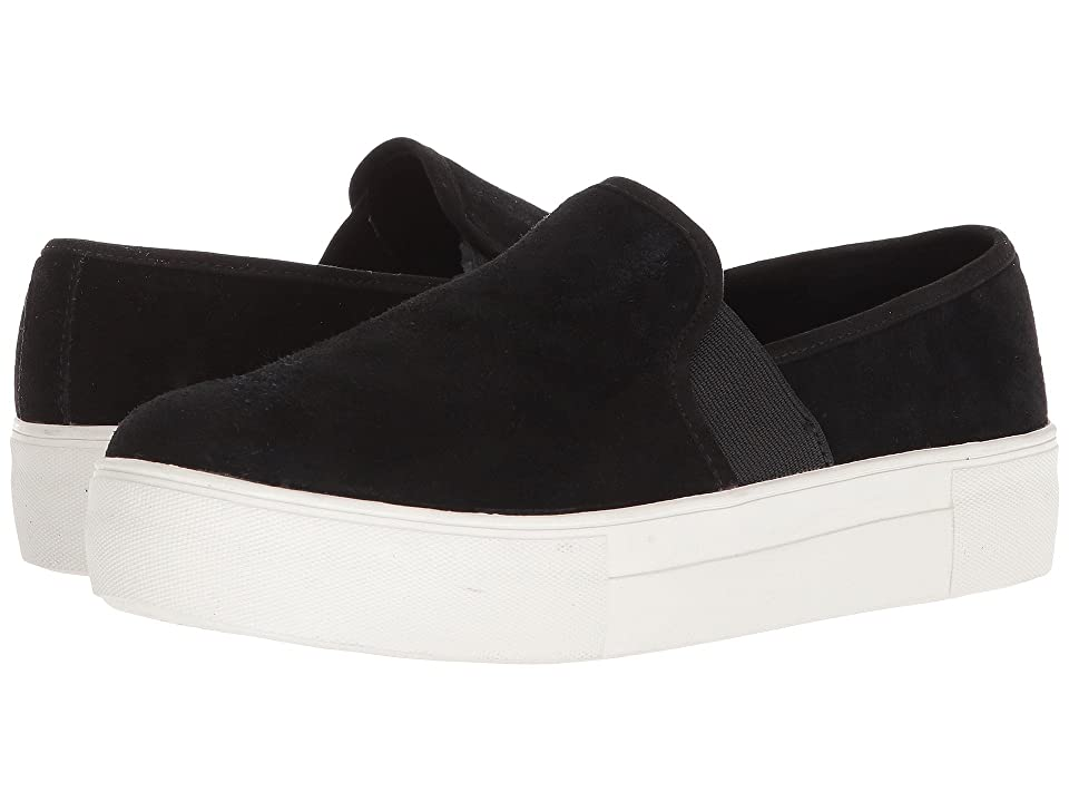 Blondo Glance Waterproof Sneaker (Black Suede) Women