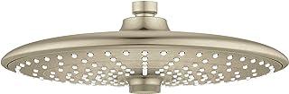 Grohe 26457EN0 Euphoria 260 Shower Head with 3 Spray Patterns, 2.5 gpm, Brushed Nickel InfinityFinish