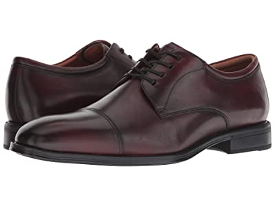 Florsheim Amelio Cap Toe Oxford (Burgundry Smooth) Men