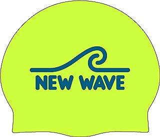 neon green swim caps