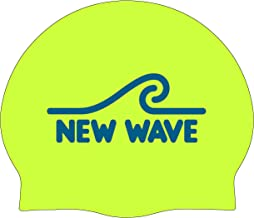 New Wave Swim Cap - Silicone Swim Cap by Swim Buoy (60g...
