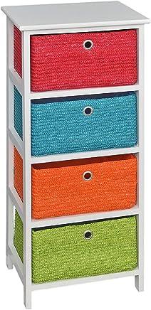 Amazon.fr : Orange - Tables de chevet / Chambre à coucher : Cuisine ...