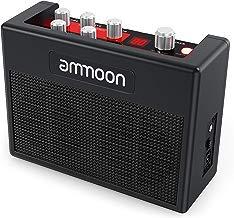 ammoon Amplificador de Guitarra Portátil POCKAMP Amplificador de 5 Vatios Multiefectos Incorporados 80 Ritmos de Batería Compatibilidad con el Sintonizador