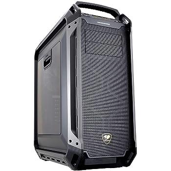 COUGAR フルタワーPCケース PANZER MAX E-ATXまで対応 アクリルウィンドウ 水冷システムフルサポート 【国内正規品】