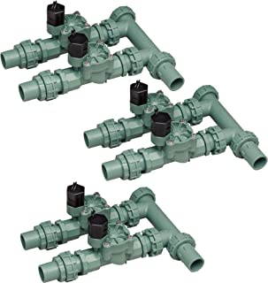 Orbit 2 Valve Preassembled Sprinkler Irrigation Manifold with Easy Wire (3 Pack)
