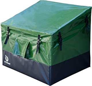 YardStash YSSB02 Outdoor Storage Deck Box Medium, Green