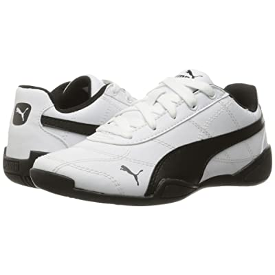Puma Kids Tune Cat 3 PS (Little Kid/Big Kid) (Puma White/Puma Black) Boys Shoes