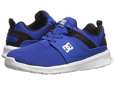 DC Kids Heathrow (Little Kid/Big Kid) (Nautical Blue) Boys Shoes